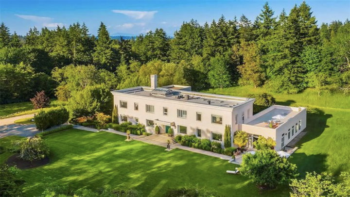 Glamorous $9.75M Home Was Once a Naval Compound