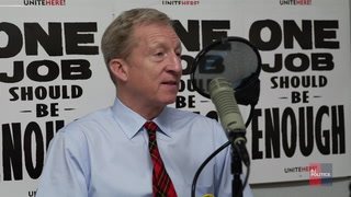 Tom Steyer on Donald Trump and the economy – Video