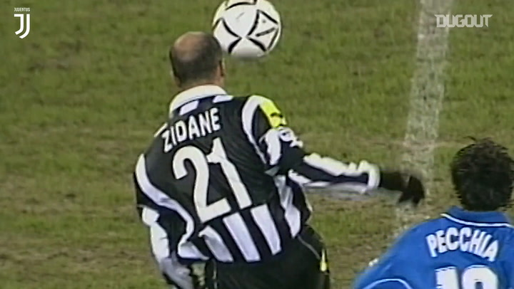 Lo mejor de Zinedine Zidane con la Juventus