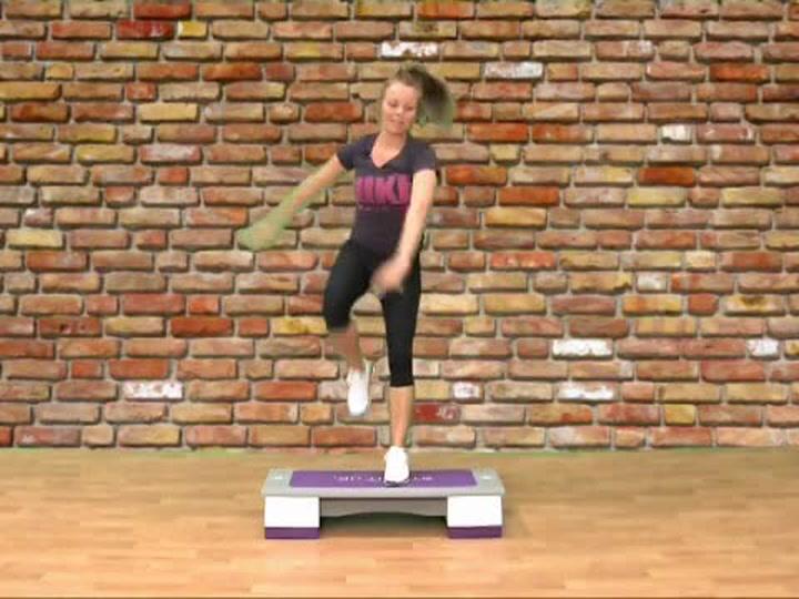 Abilica trening: Hvordan trene kneløft på stepkasse