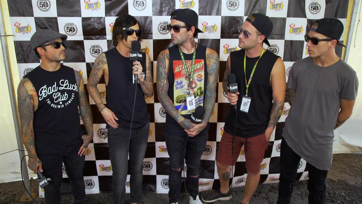 Sleeping With Sirens Say Warped Tour Makes It Difficult to Record