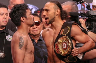 Pacquiao-Thurman weigh-in highlights – Video