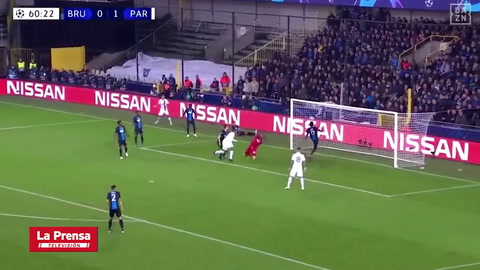 Video: Brujas 0-5 PSG (Champions League)