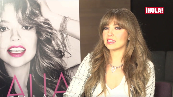 Thalía se enfrenta con fortaleza a la enfermedad de Lyme que padece desde hace ocho años