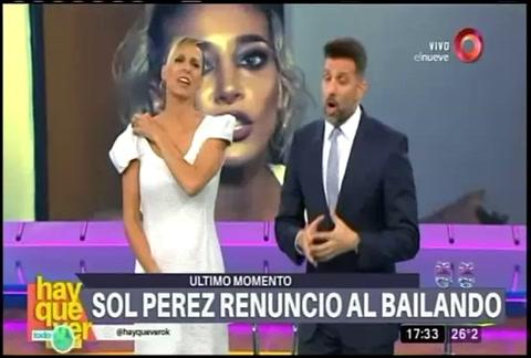 Harta de Lourdes Sánchez, Sol Pérez decidió renunciar al Bailando