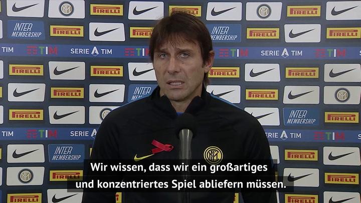 """Conte vor CL-Showdown: """"Sind bereit für Shakhtar"""""""