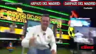 Lo que faltaba por ver: Tomás Roncero baila en la cara de Cristóbal Soria tras victoria del Real Madrid