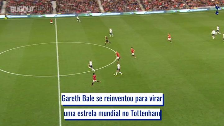 A transformação e evolução de Gareth Bale no Tottenham