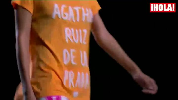 Fashion Week Madrid primavera-verano 2015: Agatha Ruiz de la Prada