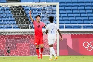 Corea del Sur está venciendo a Honduras con doblete de penal cobrado por Won Du-Jae