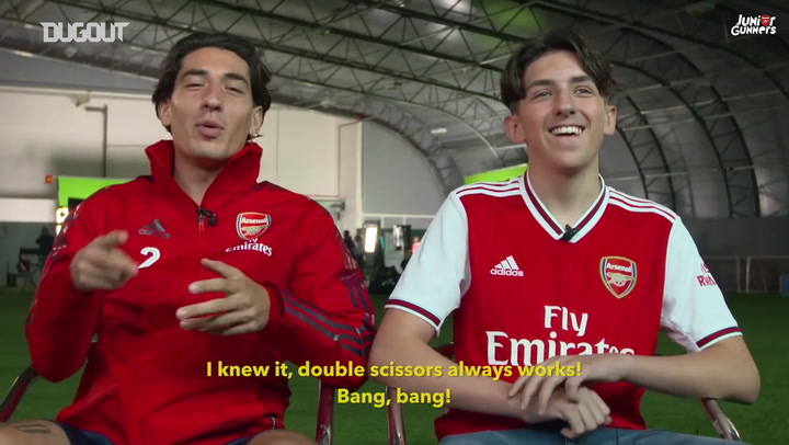 Hector Bellerin vs Junior Gunner Albie - What Do You Know?