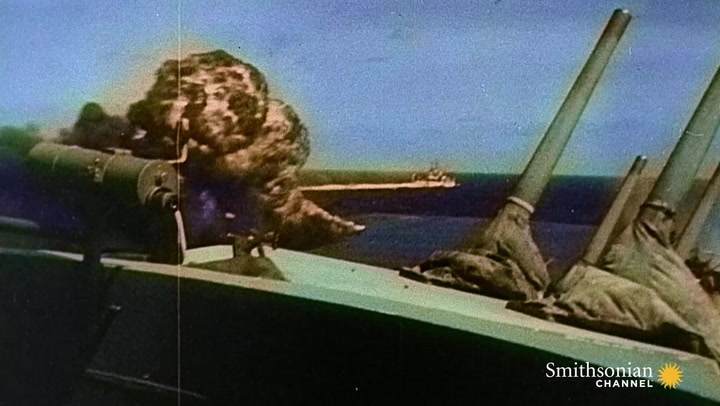 Intense Footage of Kamikaze Attacks During WWII