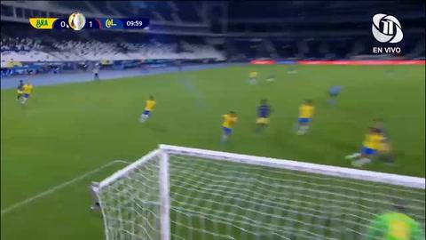 Brasil 0-1 Colombia (Copa América)
