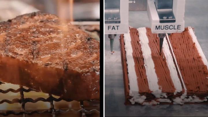 ¿Se comería usted un filete impreso?