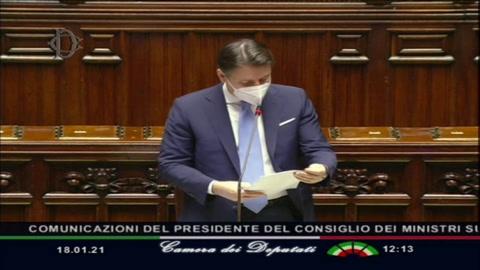 Primer ministro de Italia intenta salvar su gobierno en el Parlamento