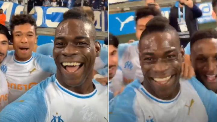 Mario Balotelli marca y lo celebra en Instagram