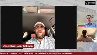 Elías Názar conversa con EL HERALDO sobre la ilusión de clasificar a semifinales