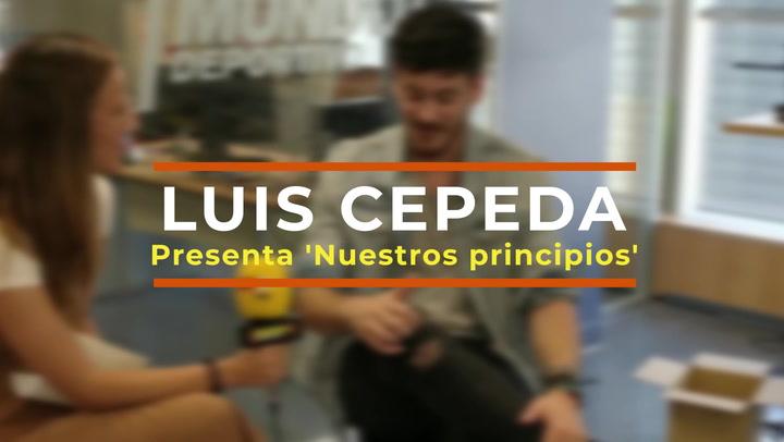 """Entrevista a Luis Cepeda: """"No soy de las personas que se pueden esperar cuando tiene algo para sacar"""""""
