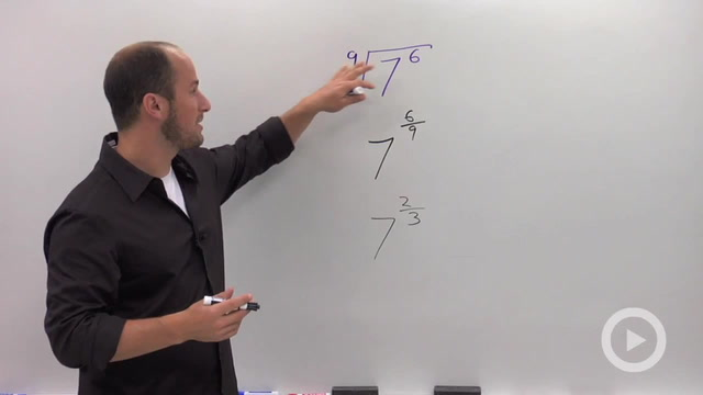 Simplifying Radicals using Rational Exponents - Problem 1