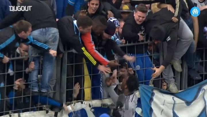 Olympique de Marseille sink Lens in 2015