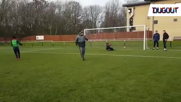 Players v Kids Penalty Shoot Out