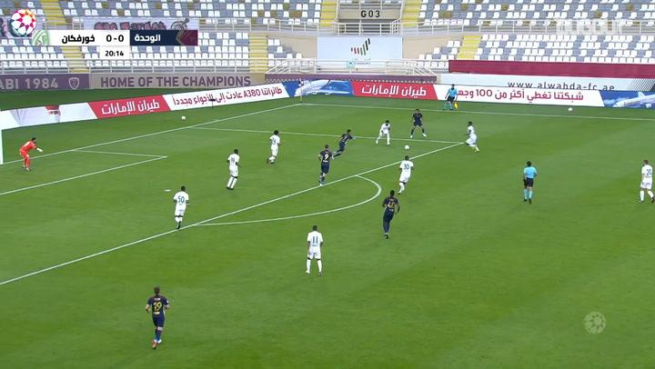 AGL Matchday 17 highlights: Al-Wahda 3-0 Khorfakkan