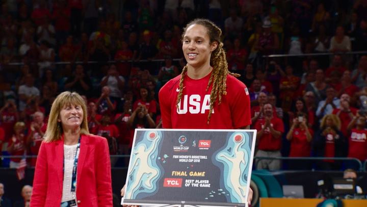 Best Of Slomo: USA Women's World Cup Team Gold Medal Celebration