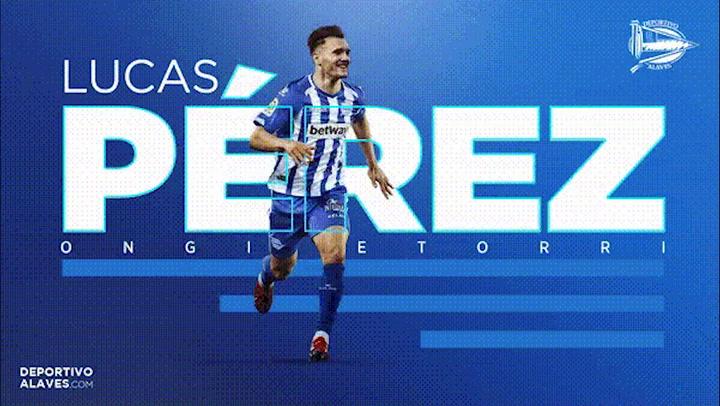 Lucas Pérez, nuevo fichaje del Alavés