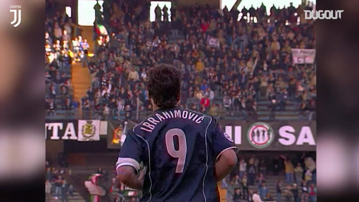 Zlatan Ibrahimović's first Serie A hat-trick