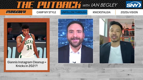 The Putback with Ian Begley: Jason Concepcion stops by