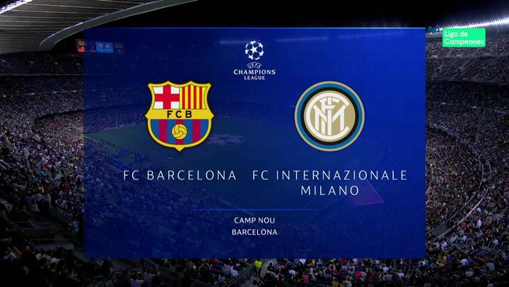 Champions League: Resumen y Goles del Partido Barça - Inter