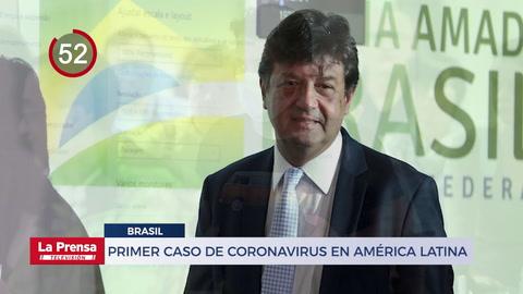 Brasil confirma primer caso de coronavirus en América Latina y otras noticias