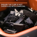 Thumbail image of Everdure by Heston Blumenthal Cube Charcoal Portab video