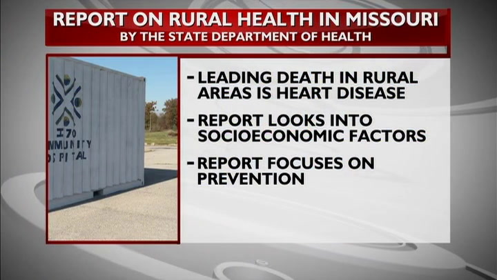 State Department of Health releases rural health report