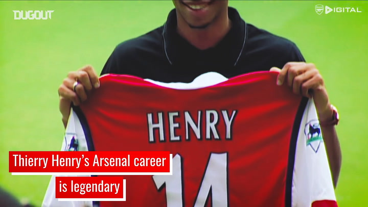 Thierry Henry's legendary Arsenal career