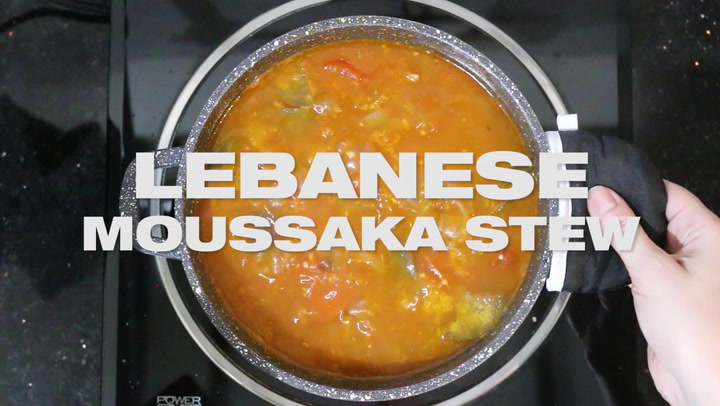 Lebanese Moussaka Stew Maghmour Masalaherb Com