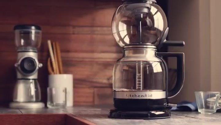 Preview image of KitchenAid Siphon Coffee Maker Brewing Process video