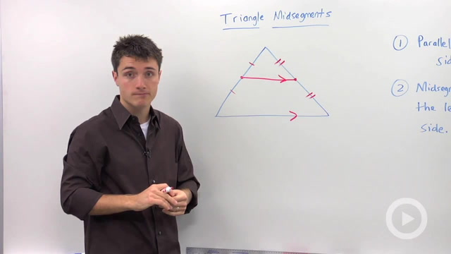 Triangle Midsegment Properties