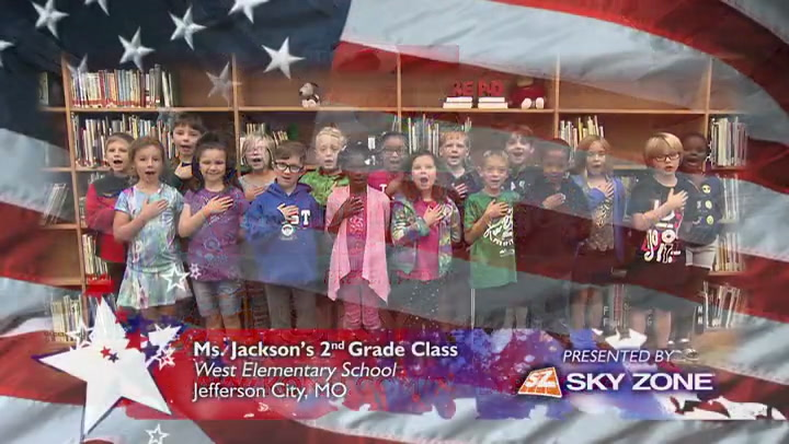 West Elementary - Ms. Jackson - 2nd Grade