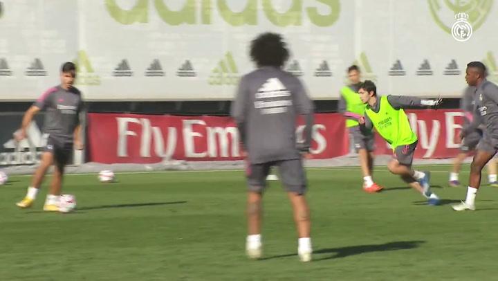 El Real Madrid comienza a preparar el partido ante el Inter