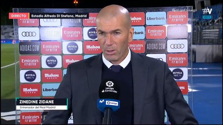 Zidane tras el Madrid - Sevilla: ''Estoy muy enfadado''
