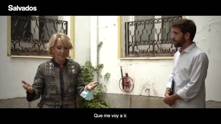"""Vuelve 'Salvados' con el desplante de Esperanza Aguirre: """"Quiere que me vaya. Pues me voy"""""""
