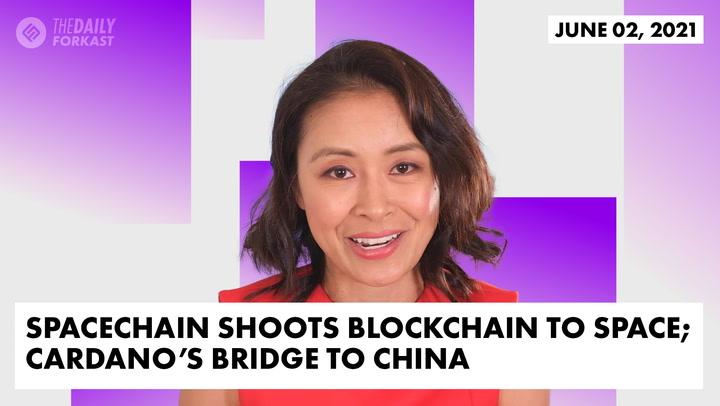 SpaceChain Shoots Blockchain to Space; Cardano's Bridge to China