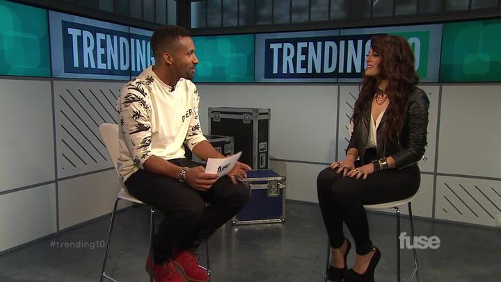 Shows: Trending 10: Bebe Rexha Interview