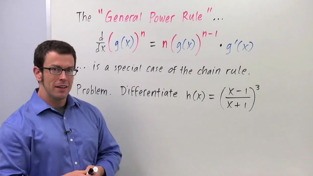 Chain Rule: The General Power Rule - Problem 1