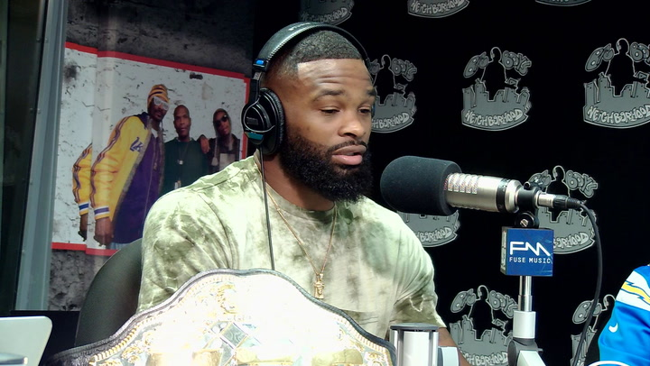 Tyron Woodley Talks His Sons Following His MMA Footsteps