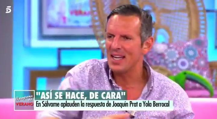 """Joaquín Prat, sobre Yola Berrocal: """"No he hablado con ella en 12 años. Tengo mis razones"""""""