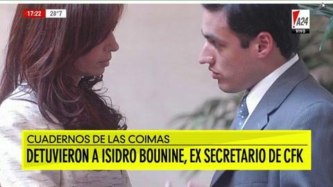 Detuvieron a un ex secretario privado de Cristina Kirchner