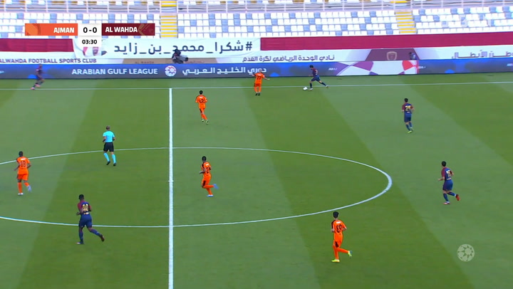 Arabian Gulf League: Al Wahda 1-0 Ajman