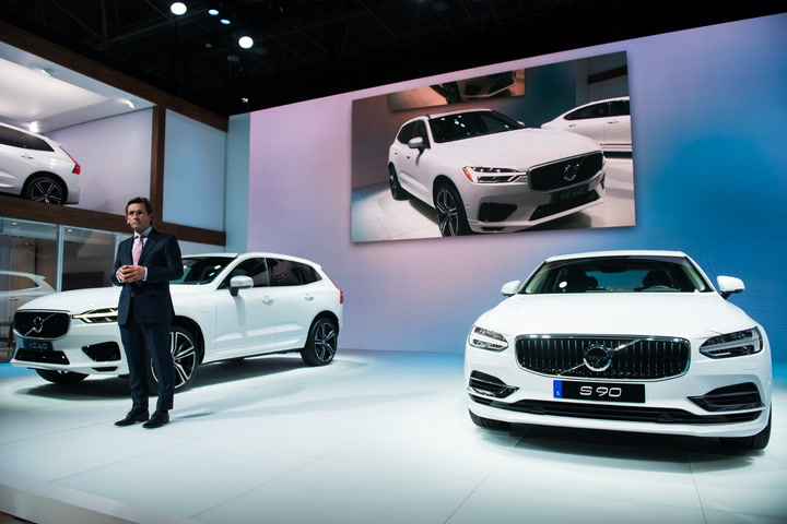 Uber's self-driving car fleet will be supplied by Volvo - SFGate